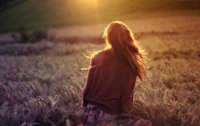 girl misunderstood, solitude is healing